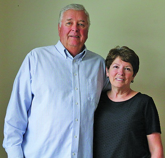 After living in Chadron, Neb., the past 36 years, Dale and Megan Williamson moved back to their hometown of Custer earlier this month so they can be closer to their children and grandchildren.