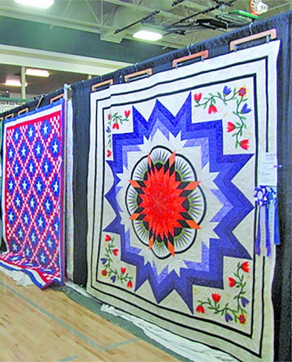 —The annual Quilt Show and Sale returns to Hill City this weekend, and with it the variety of colorful quilts for which it is known. There are a variety of activites planned for the weekend to go along with the show and sale. [PNFile Photo]
